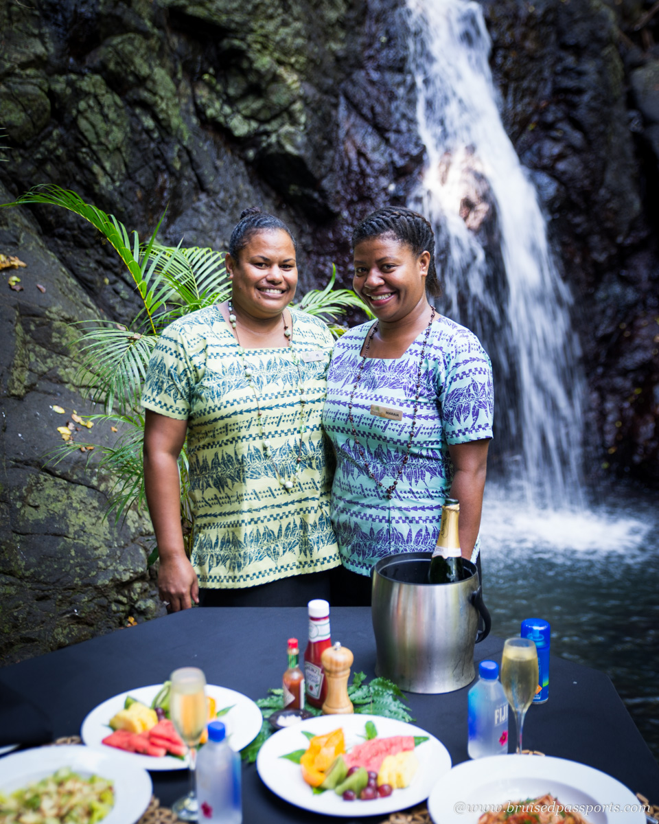 staff at namale resort and spa fiji