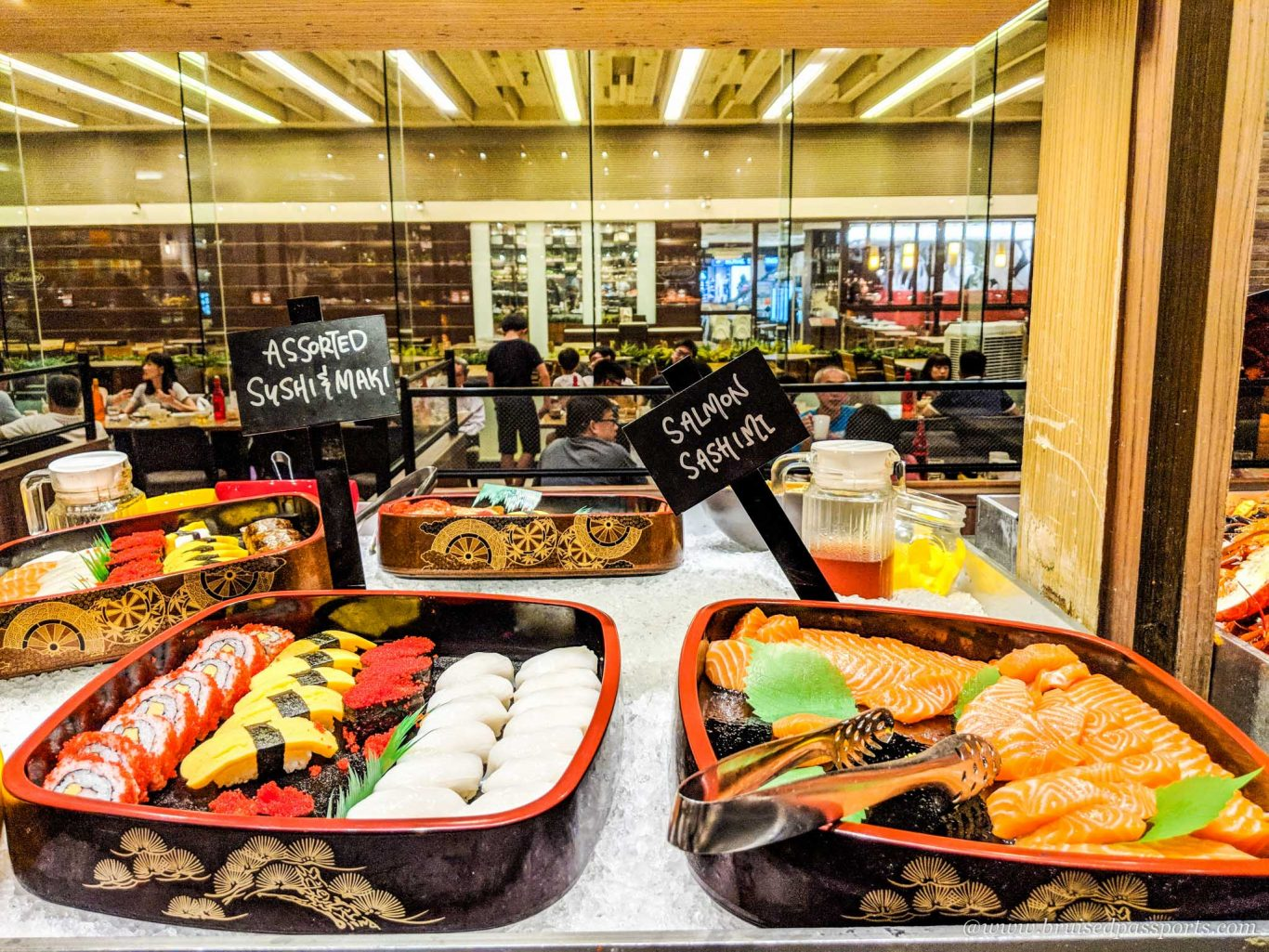 Seafood buffet at Hotel Jen Tanglin in Singapore