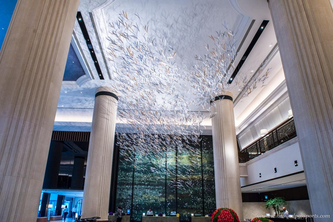 Lobby at Shangri-La Singapore
