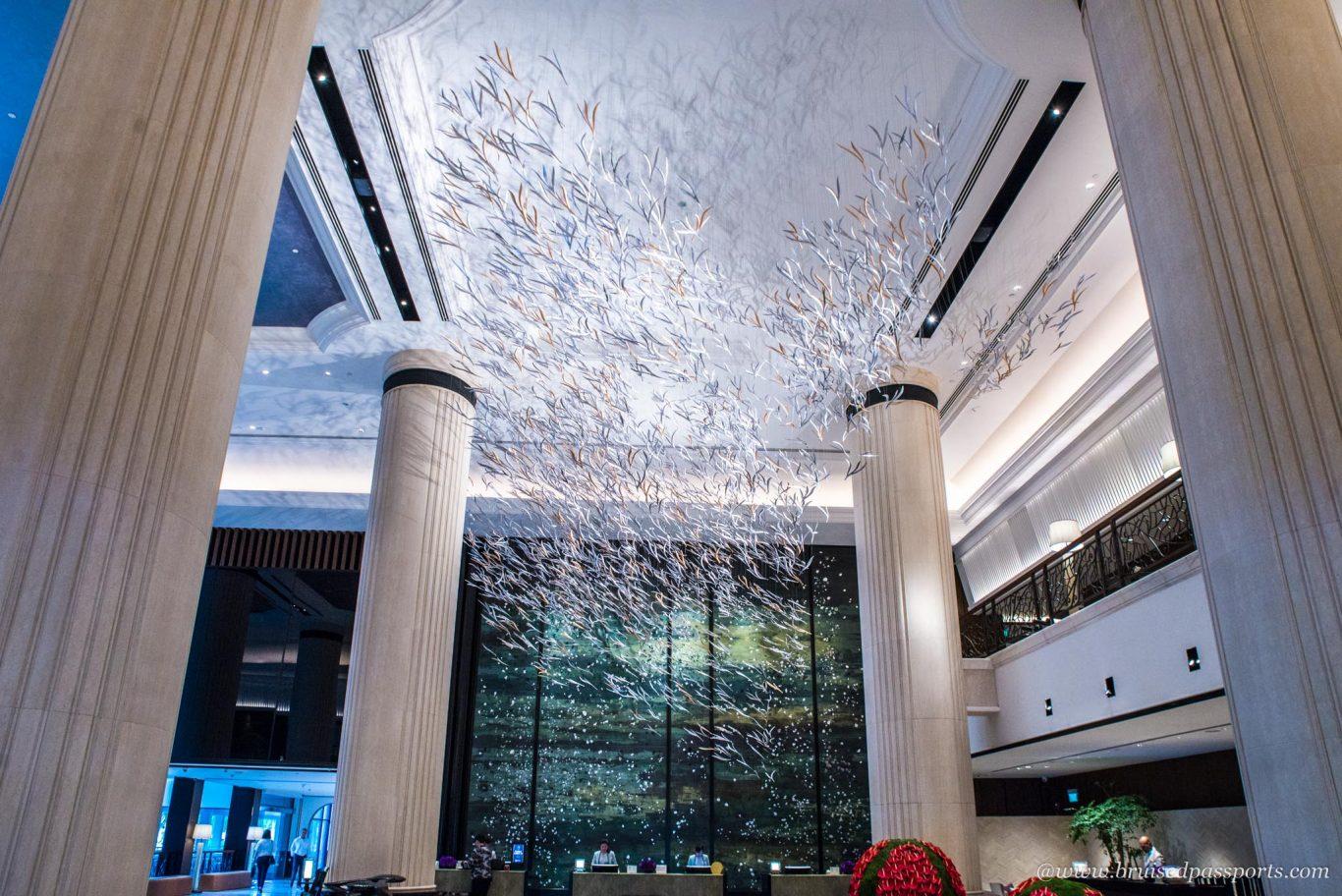 Lobby at Shangri-La Singapore