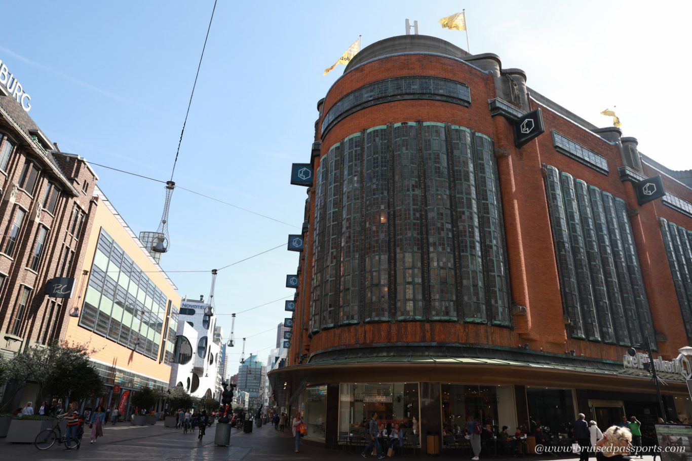 shopping quarter in The Hague