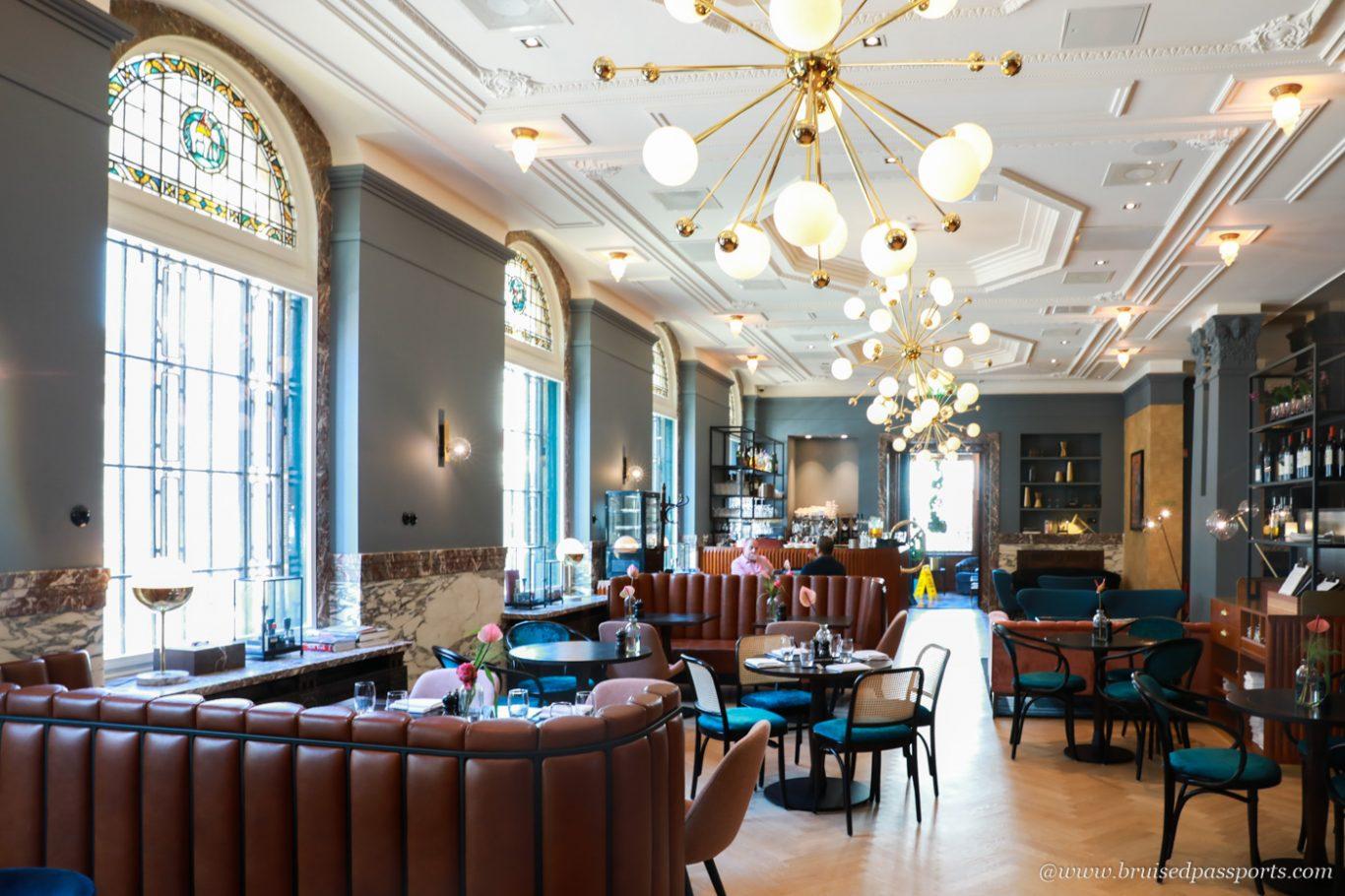 Dining area at Hotel Indigo The Hague