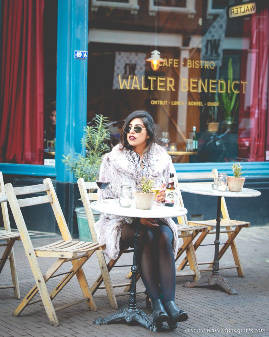 Walter benedict alfresco dining in The Hague
