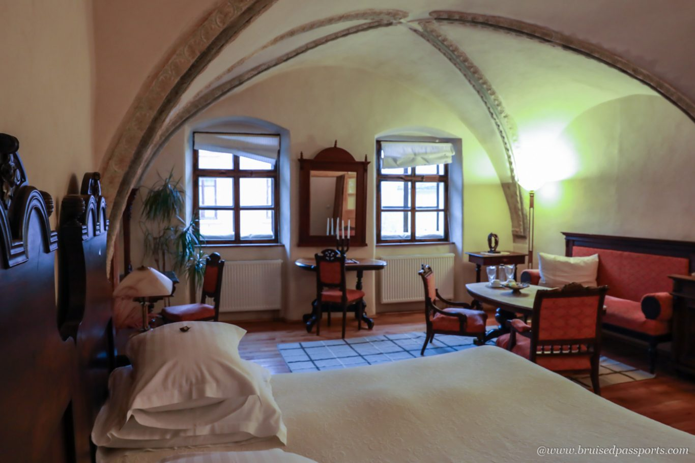 luxurious rooms at Fronius Residence in Sighisoara Romania