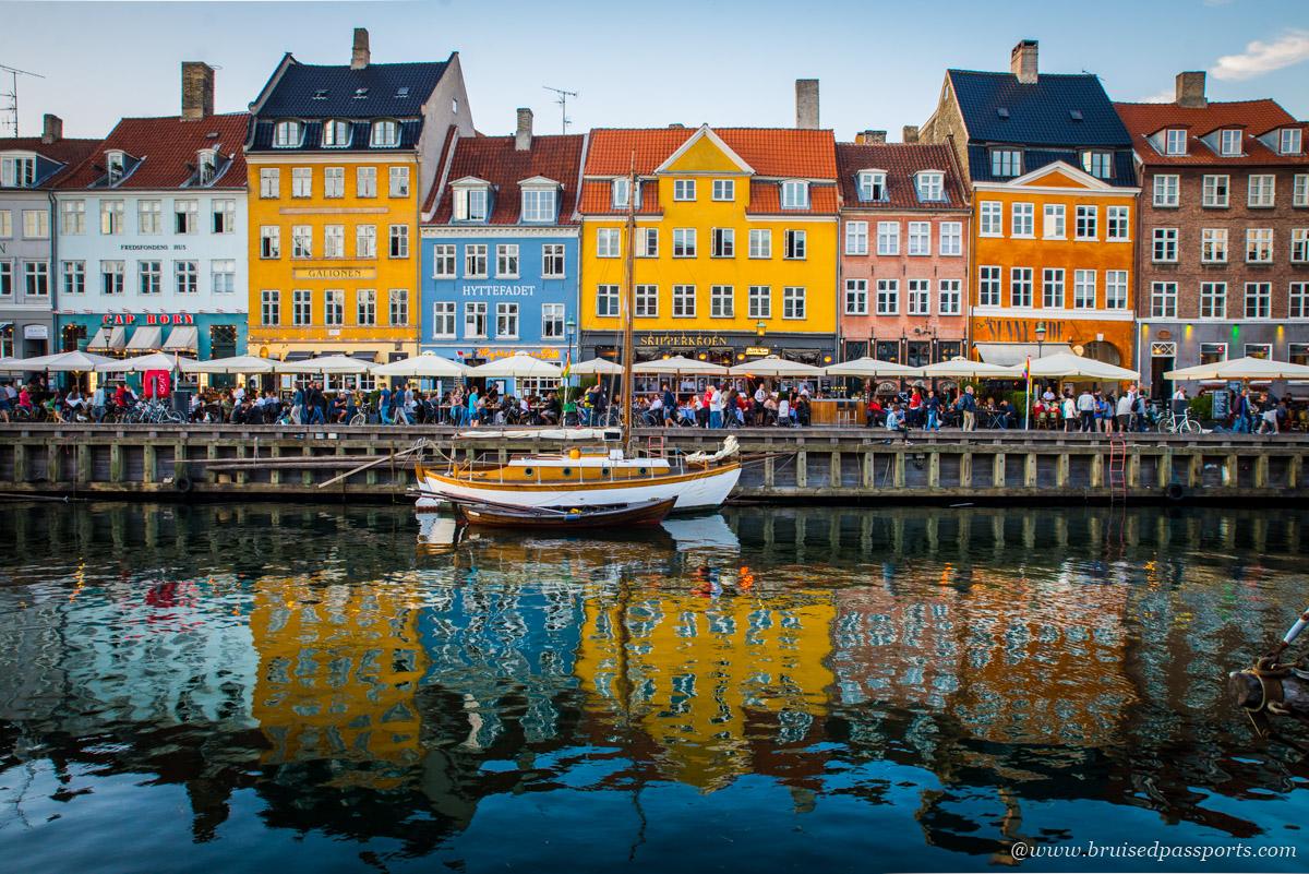 Nyhavn Copenhagen crowded