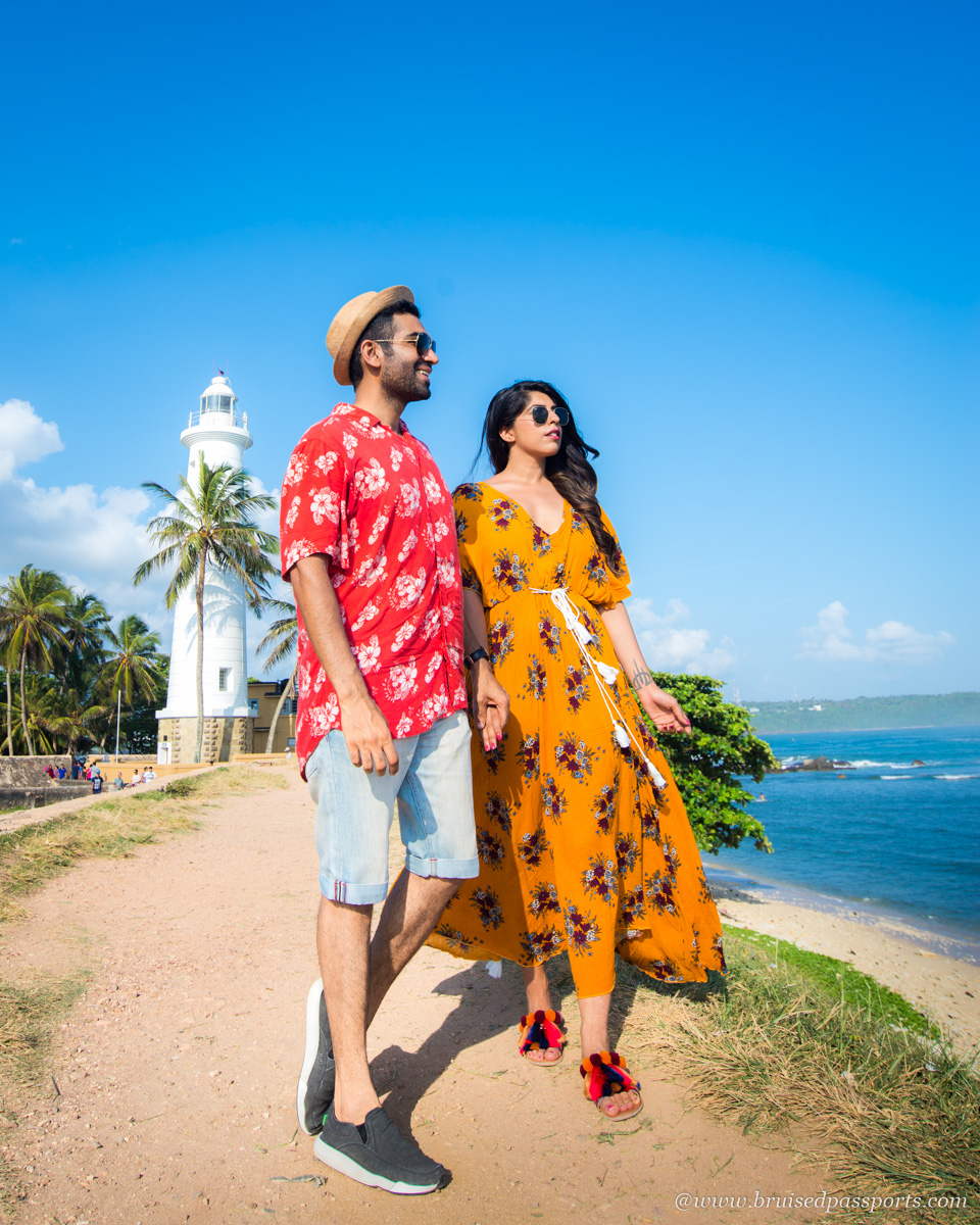 Couple at Galle Fort