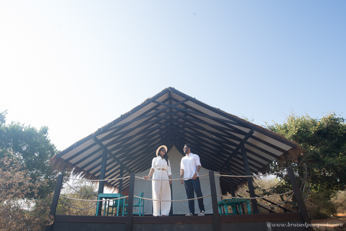 Glamping tents at Jetwing Yala