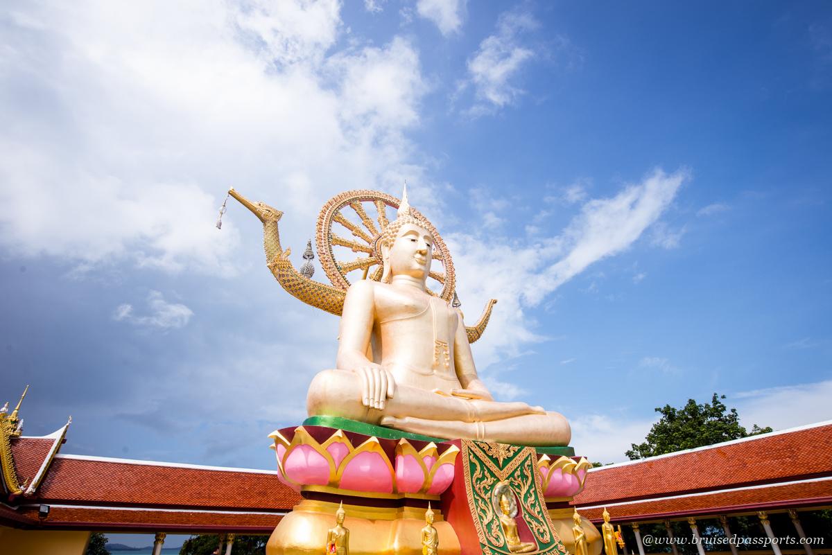 Giant Buddha Koh Samui Thailand