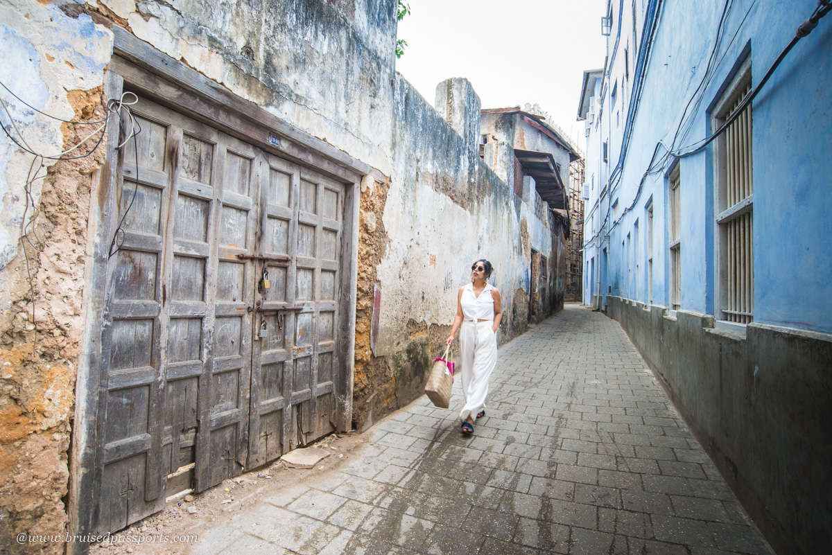 beautiful architecture in Stone Town