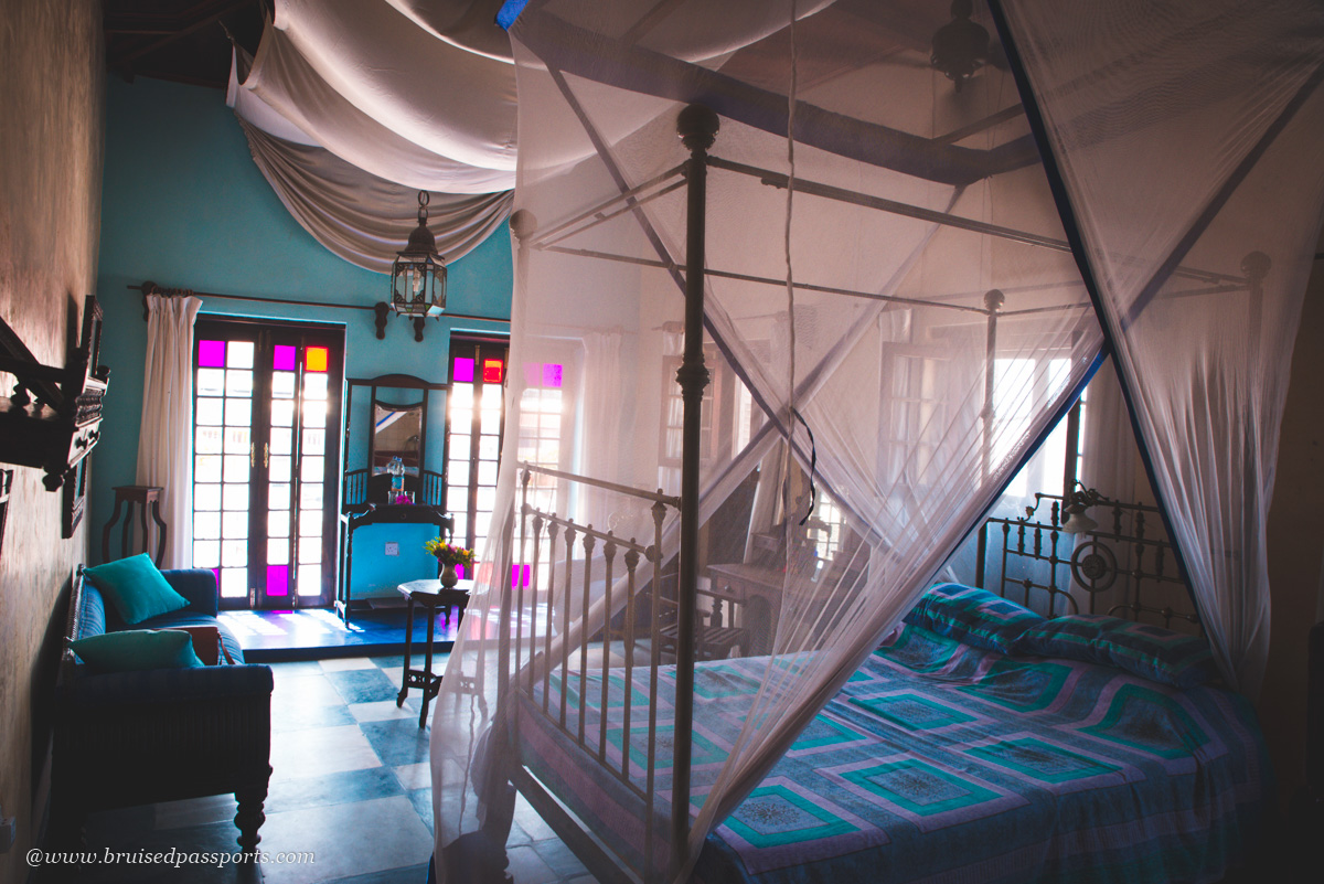 Bedroom at Emerson on Hurumzi in Stone Town Zanzibar