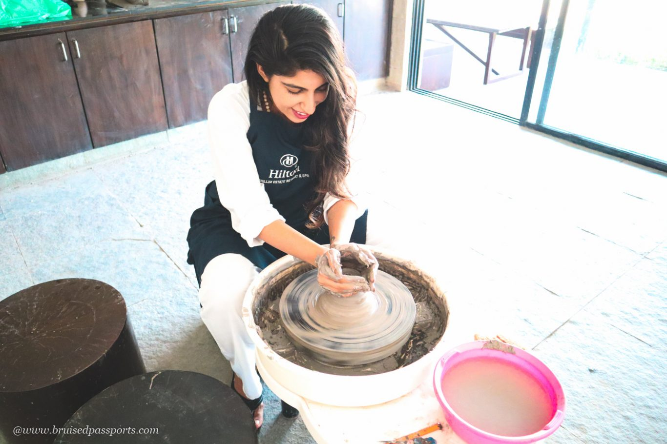 pottery lessons at Hilton Shillim