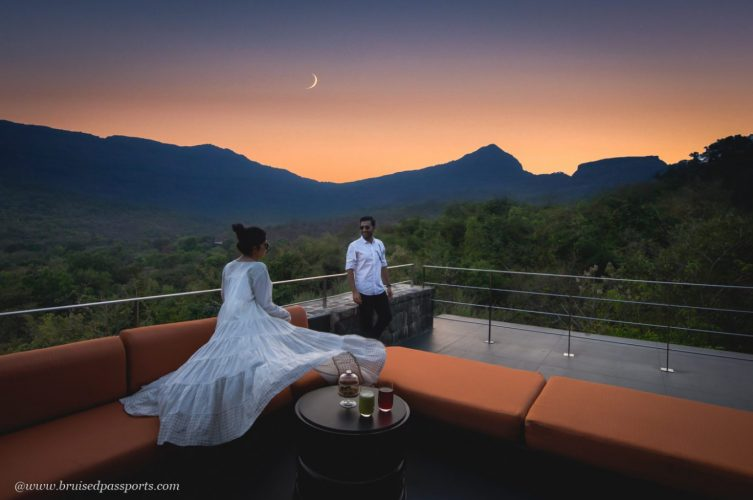 Sunset view at Valley Bar Hilton Shillim