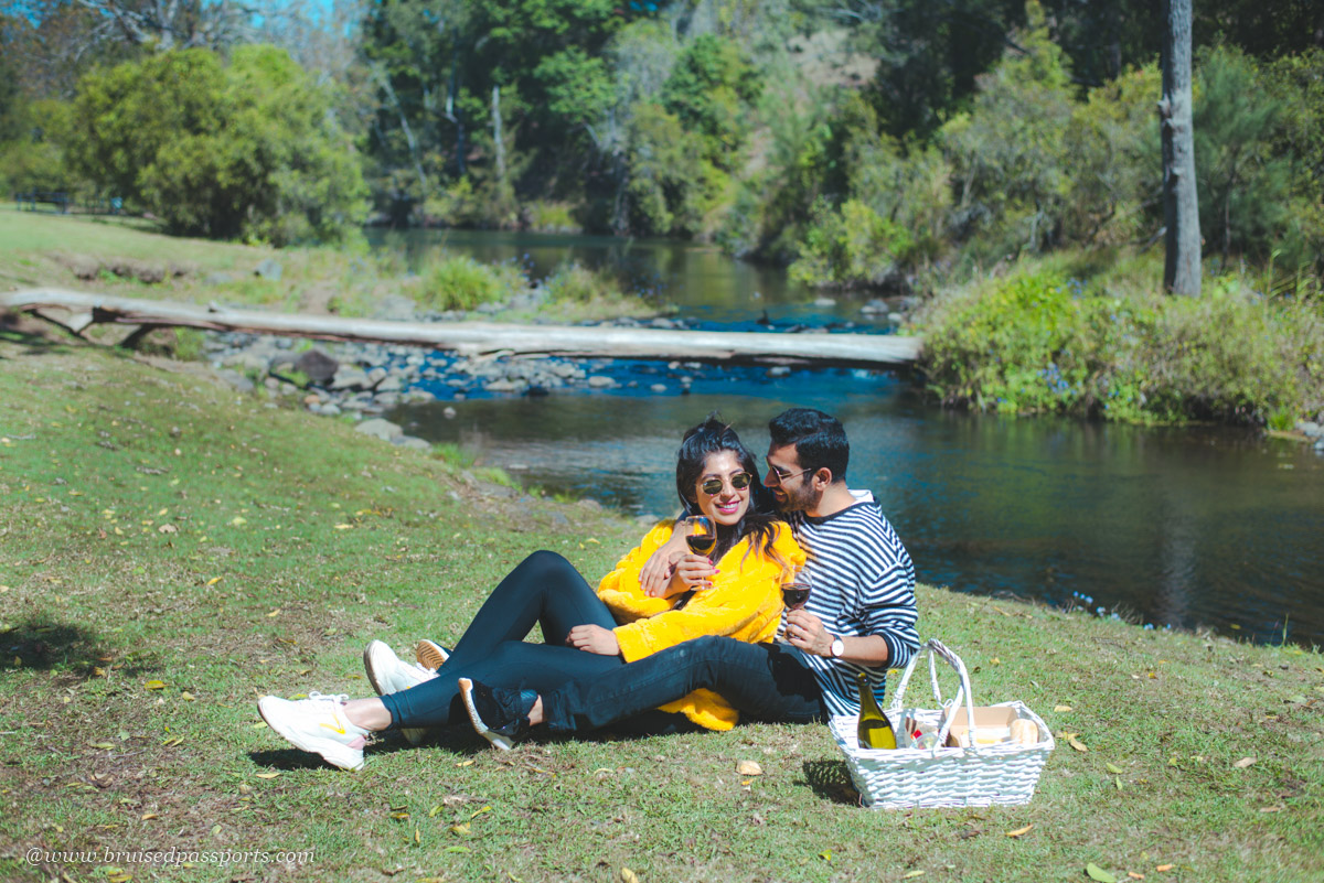 picnic at O'reilly's canungra vineyards
