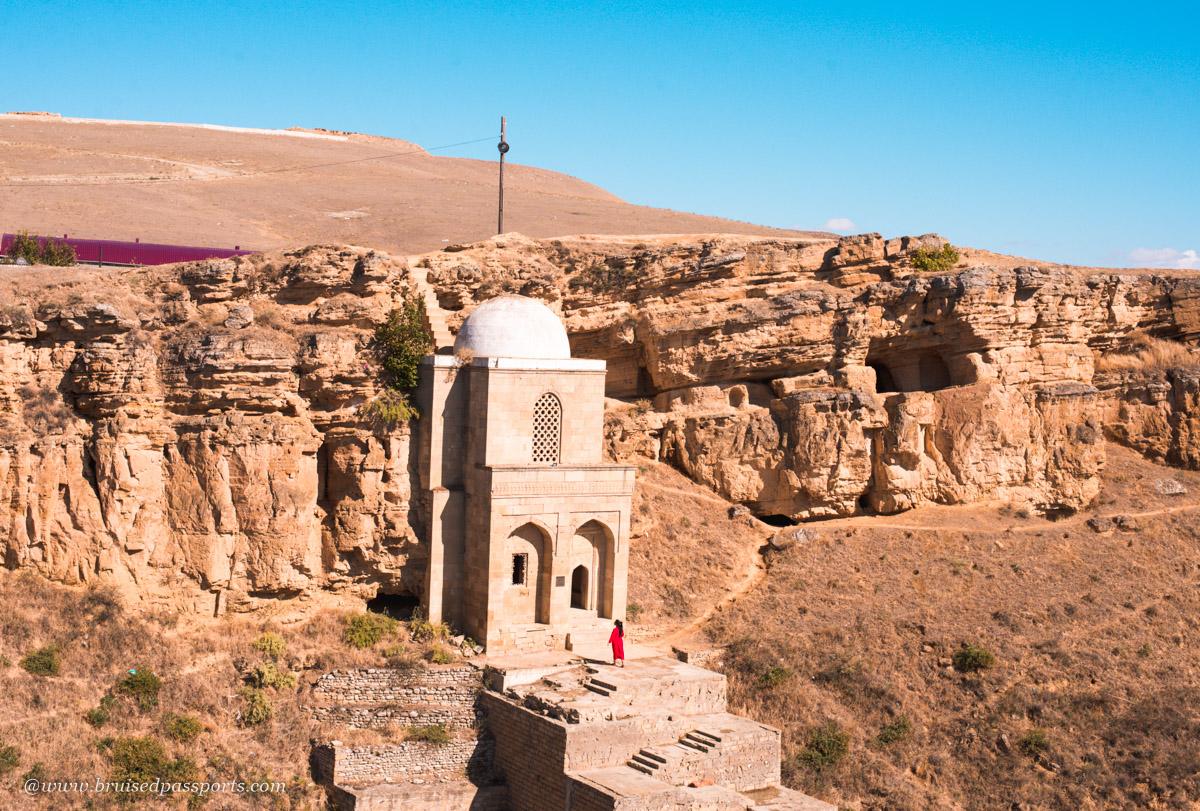 Diri Baba mausoleum day trip from Baku to Shamikhi