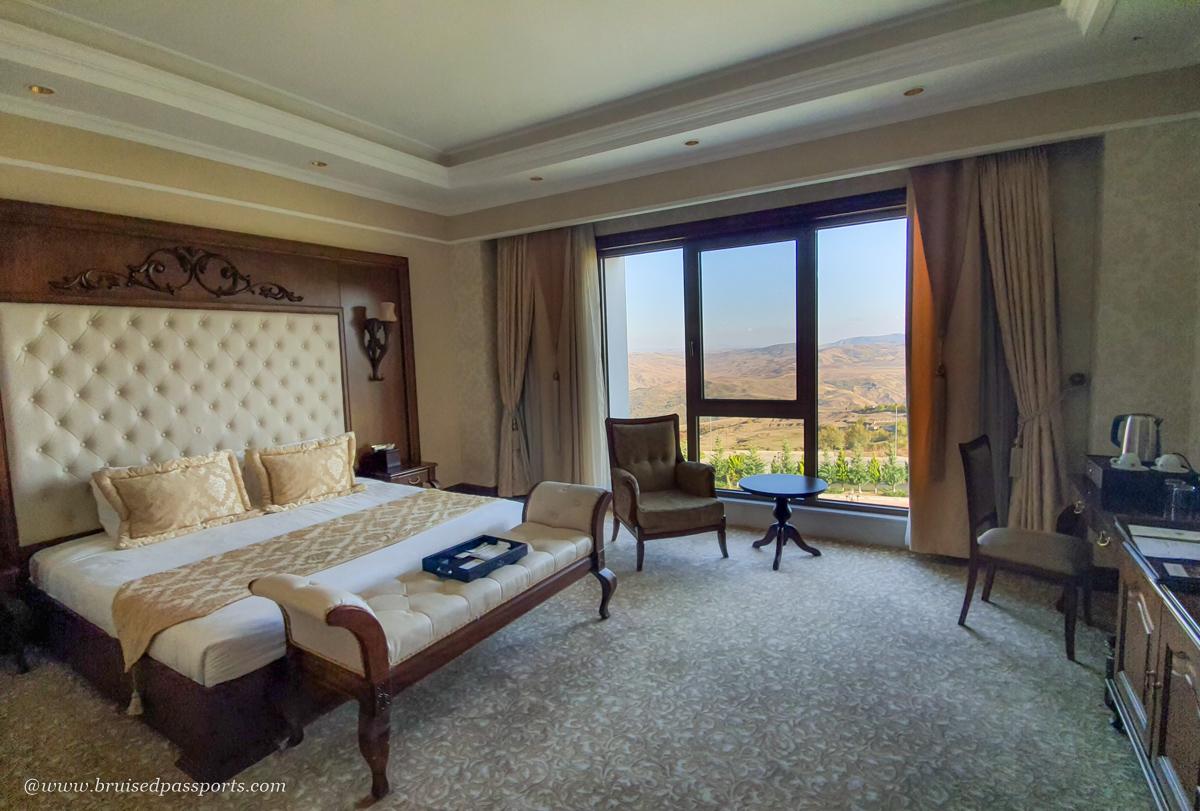 mountain view rooms at Shamakhi Palace hotel