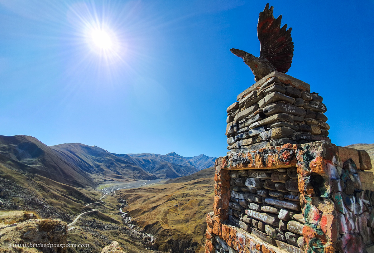 road trip in Azerbaijan to village of Xinaliq