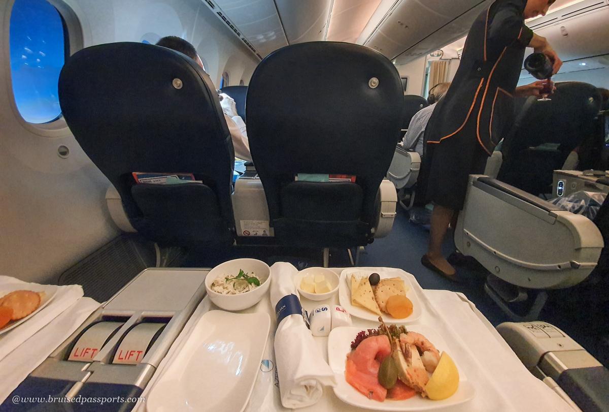 Azerbaijan airlines premium economy cacbin