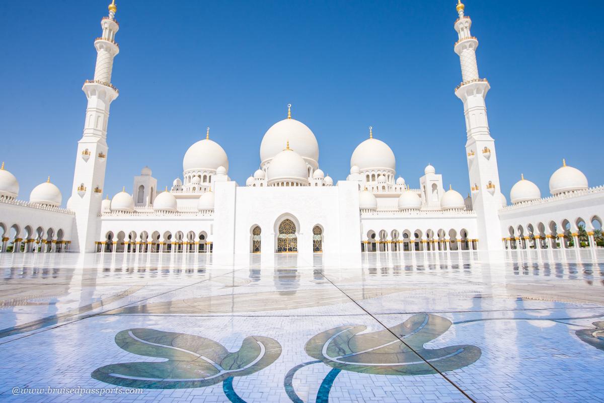Sheikh Zyed Mosque Abu Dhabi